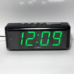 Часы настольные электронные сетевые VST-762