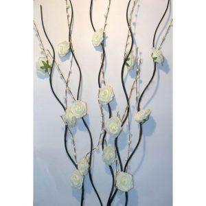 Искусственные цветы Белые розы