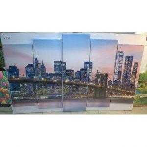 Картина модульная Бруклинский мост