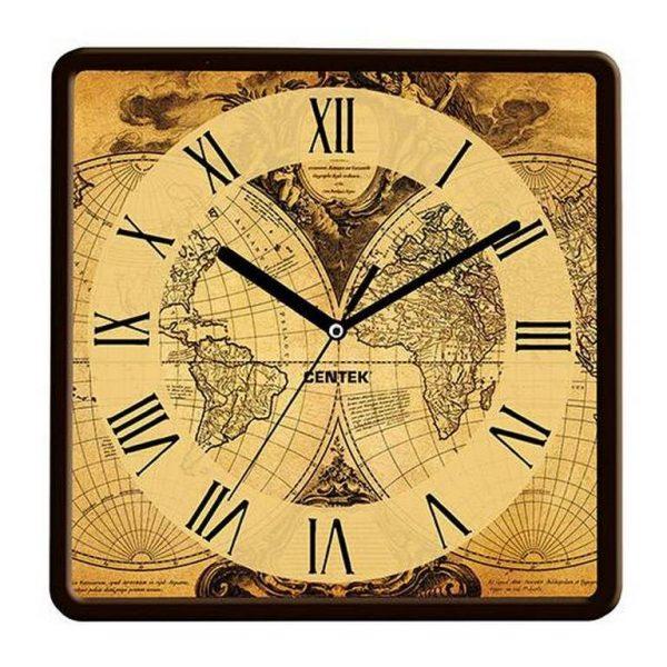 Часы настенные Centek Карта фото 1