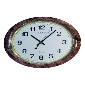 Часы настенные La Mer овальные