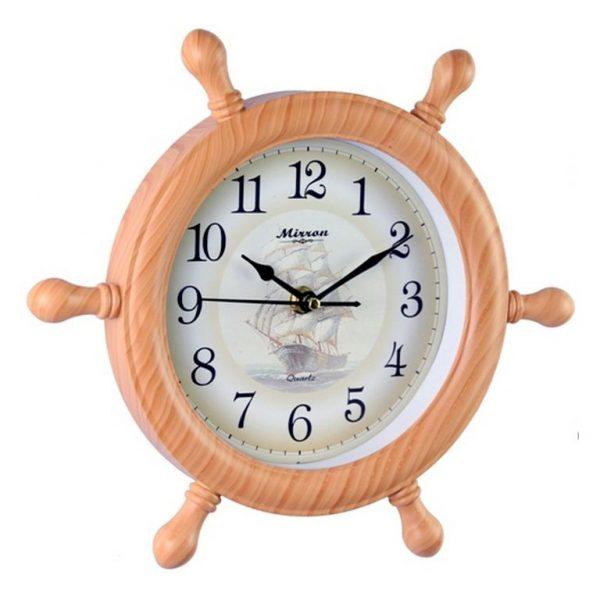 Часы настенные Mirron штурвал