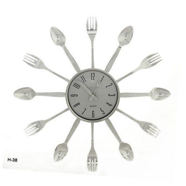Часы настенные Вилки-ложки 38 см