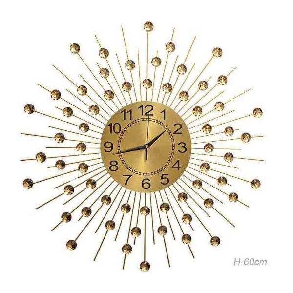 Часы настенные Звезда золото
