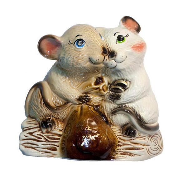 Копилка Крысы с мешком денег