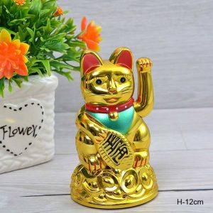 Сувенир фэншуй Денежный кот 12 см