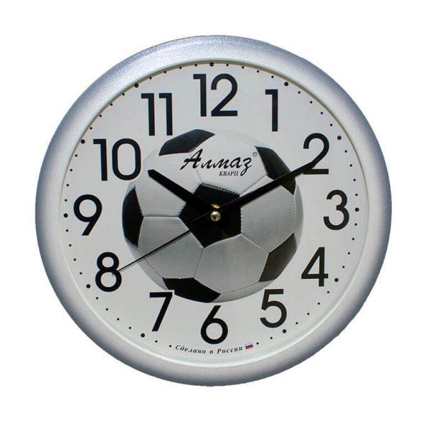 Часы настенные Алмаз Футбольный мяч