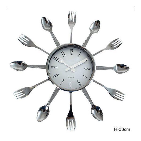 Часы настенные Ложки-вилки