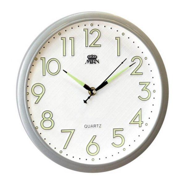 Часы настенные Mirron светонакопительные 30,5 см