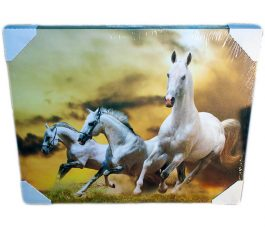 Картина (репродукция) Три белых коня