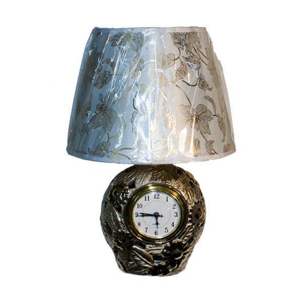 Лампа-часы настольная
