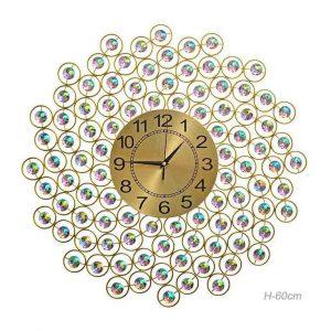 Часы настенные Сияние золото