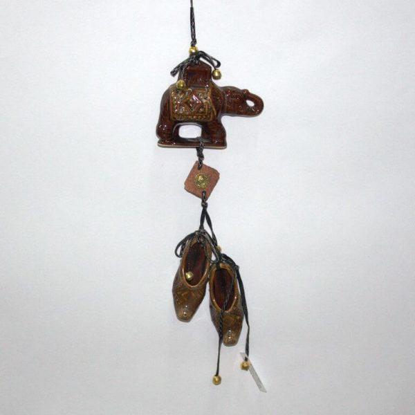 Оберег Слон с башмачками