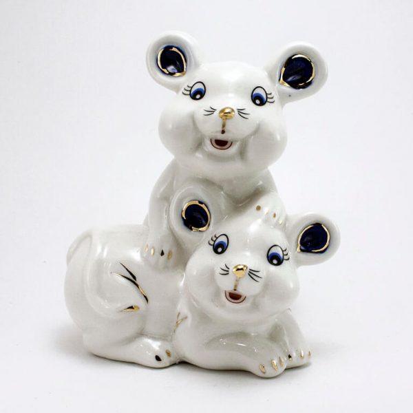 Статуэтка Две мышки