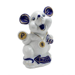 Статуэтка Мышь на удачу