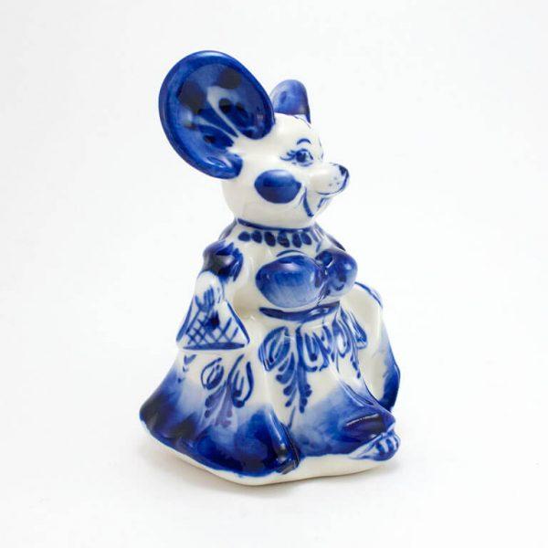 Статуэтка Мышка в платье фото 2