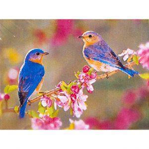 Картина стразами Птички на ветке