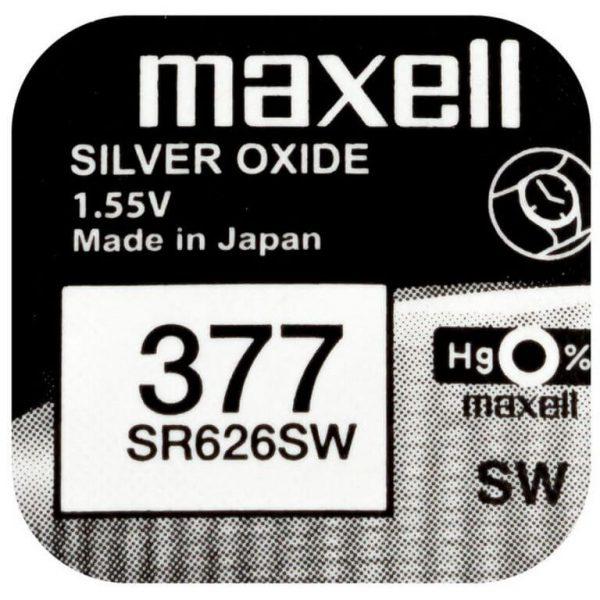 Батарейка Maxell SR626SW фото 2