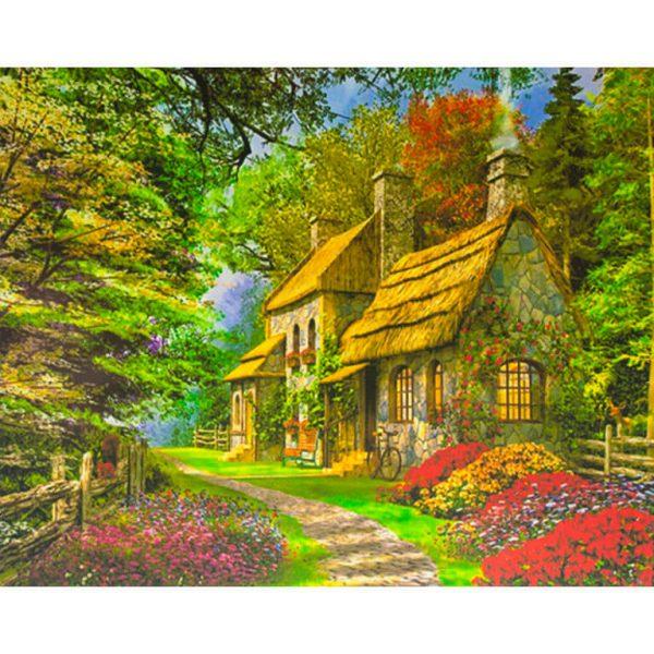 Картина по номерам Дом