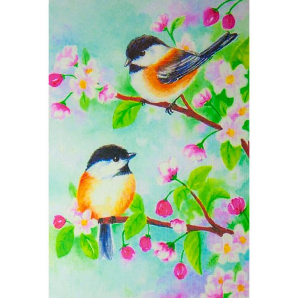 Картина по номерам Птички