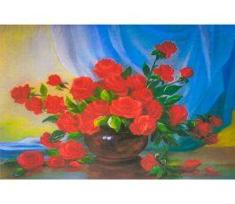 Картина по номерам Розы 30*20