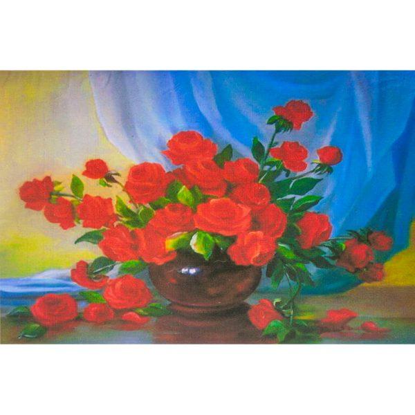 Картина по номерам Розы