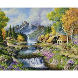 Картина по номерам Водопад