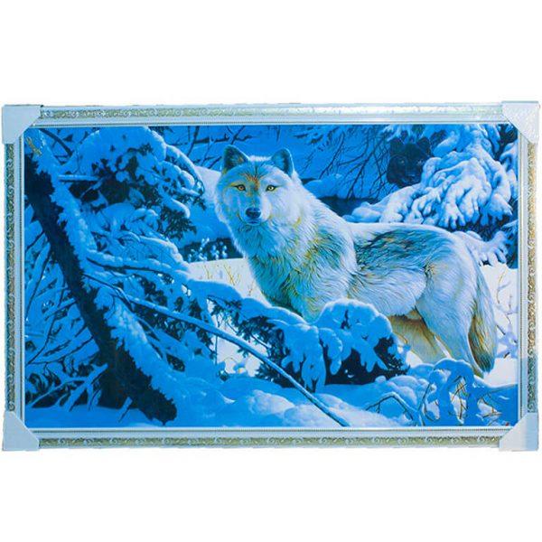 Картина (репродукция) Волки