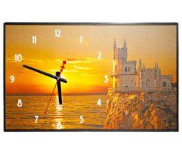 Часы картина Ласточкино гнездо