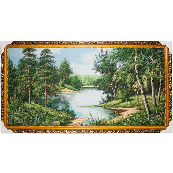 Картина (гобелен) Речка