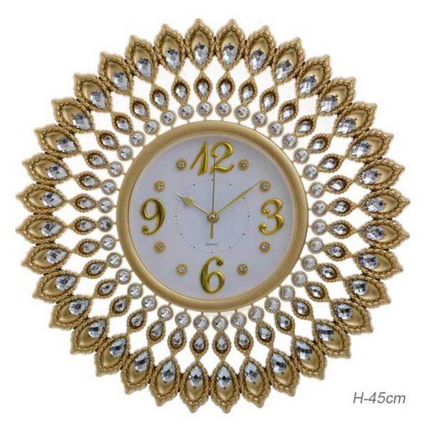 Часы настенные со стразами