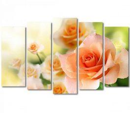 Картина модульная Изысканные розы
