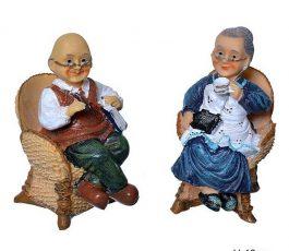 Статуэтка Бабушка Дедушка 10 см