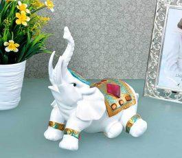 Статуэтка Слон лежит 22 см