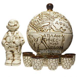 Сувенирный набор Глобус фото 1
