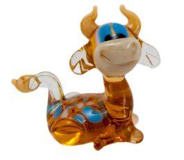 Статуэтка из стекла Корова